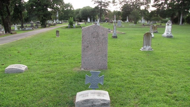 Richard Waterhouse Marker and grave image. Click for full size.