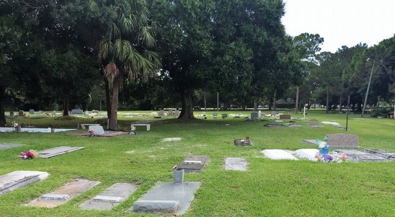 Mt. Carmel Missionary Baptist Church Cemetery image. Click for full size.