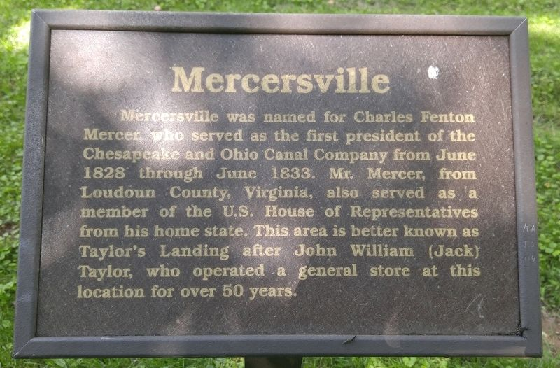 Mercersville Marker image. Click for full size.