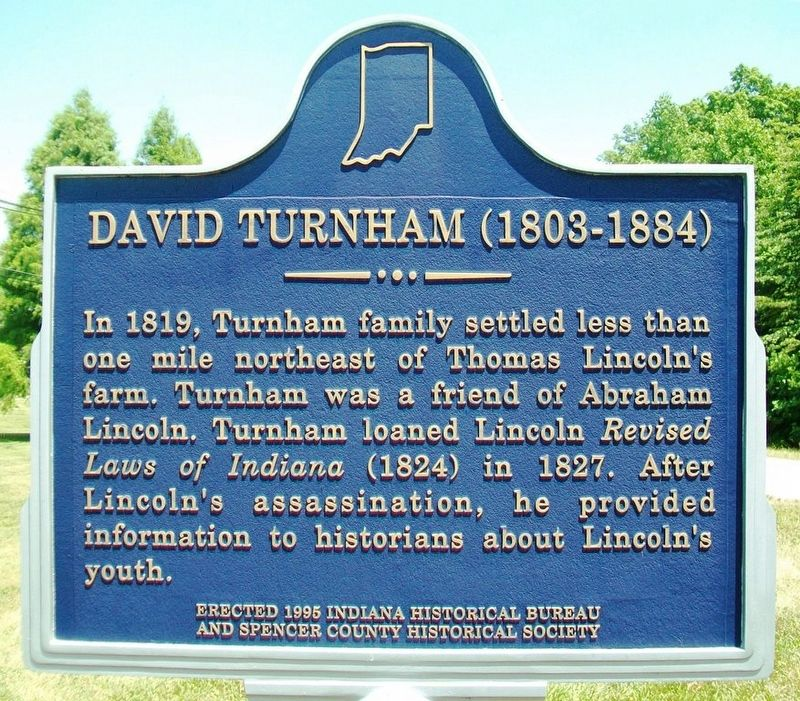 David Turnham (1803-1884) Marker image. Click for full size.