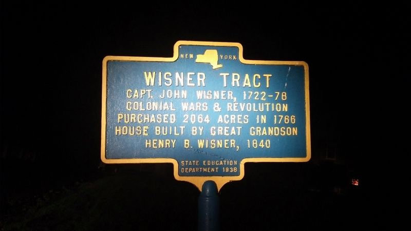 Wisner Tract Marker image. Click for full size.