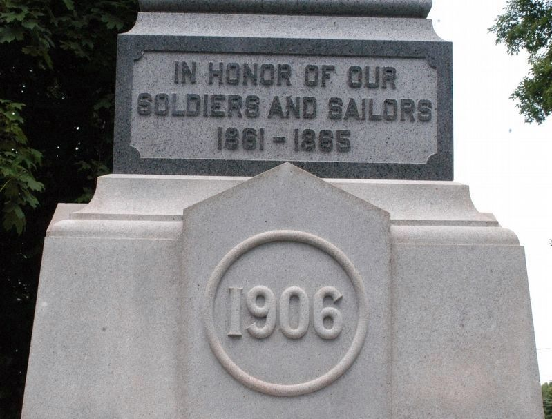 Freeport Maine Civil War Monument image. Click for full size.