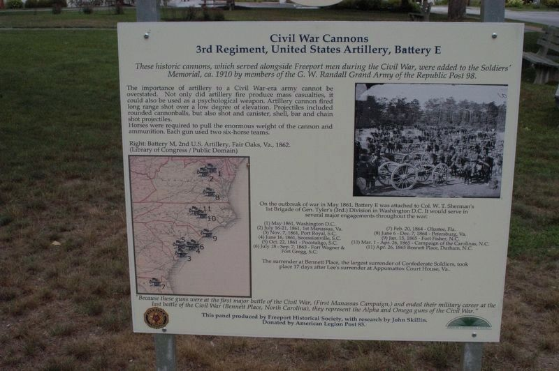 Civil War Cannons image. Click for full size.