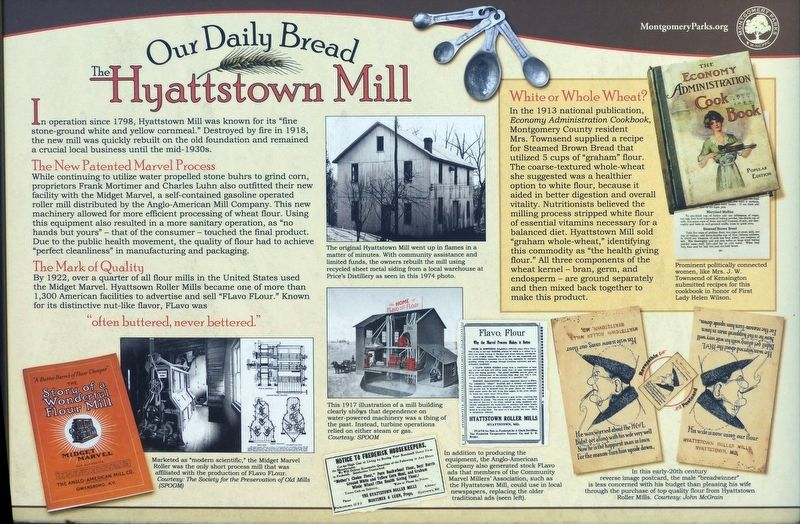 Our Daily Bread Marker image. Click for full size.