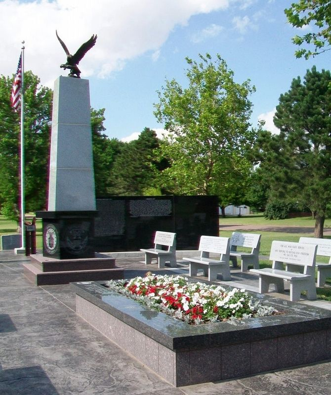 Pawnee County Area All Veterans Memorial image. Click for full size.