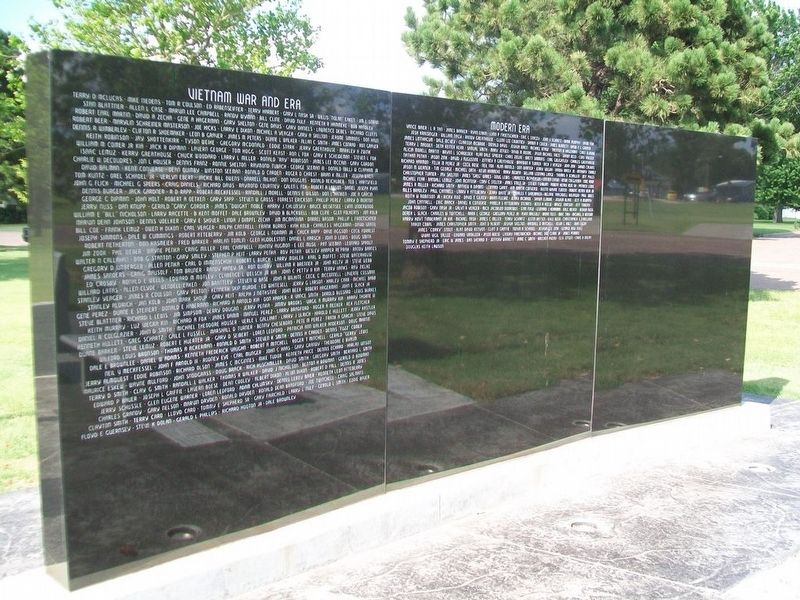 Pawnee County Area All Veterans Memorial Honor Rolls image. Click for full size.