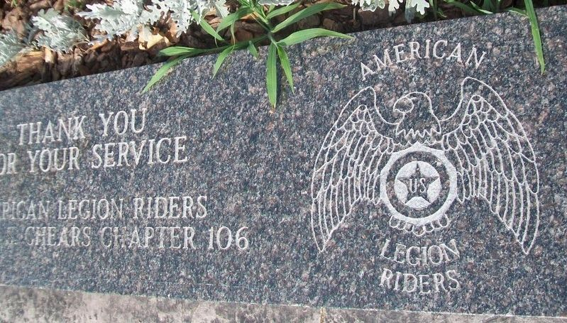 Pawnee County Area All Veterans Memorial Stone image. Click for full size.