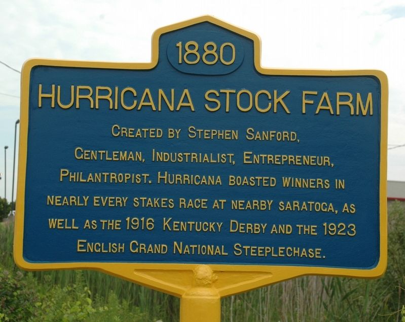 Hurricana Stock Farm Marker image. Click for full size.