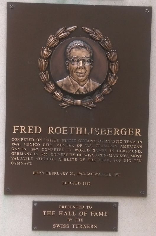 Fred Roethlisberger Marker image. Click for full size.