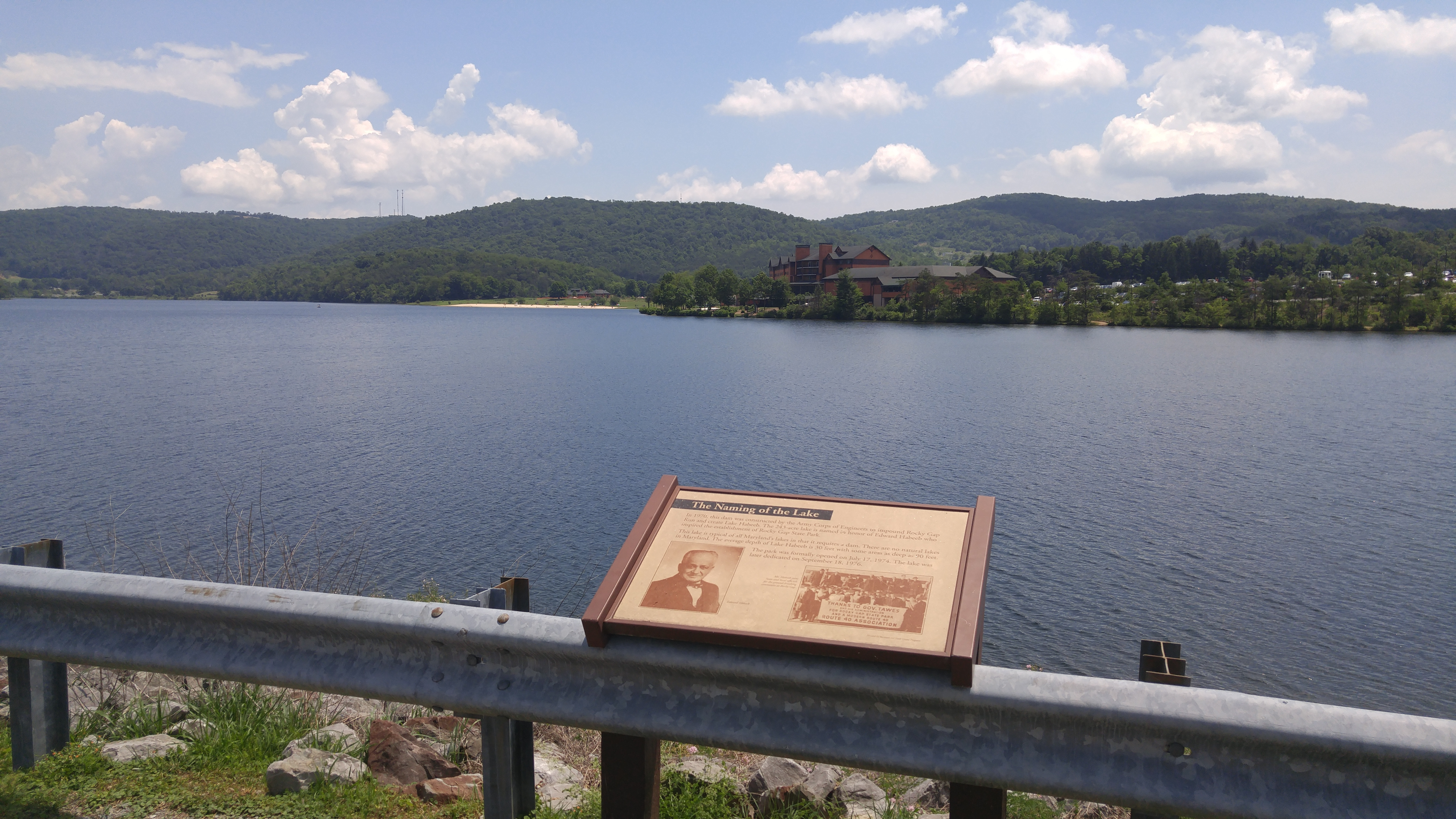 The Naming of the Lake Marker