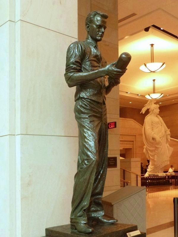 Philo T. Farnsworth Statue in the U.S. Capitol image. Click for full size.