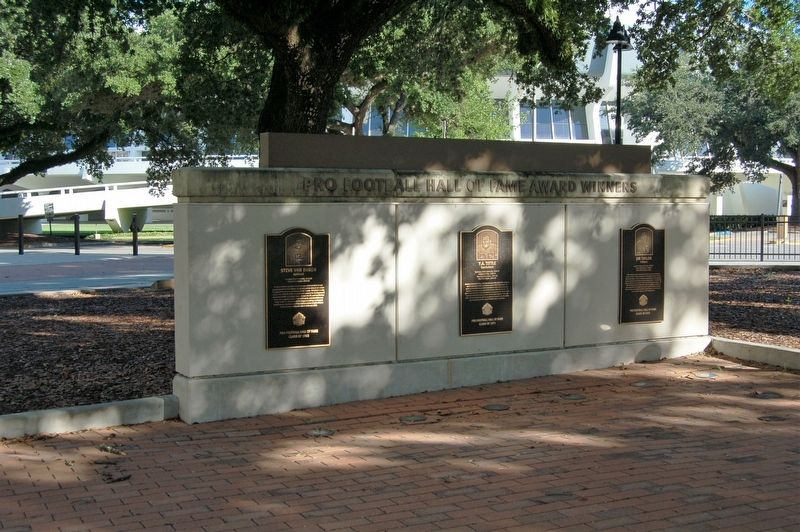LSU Pro Hall of Famers Wall image. Click for full size.