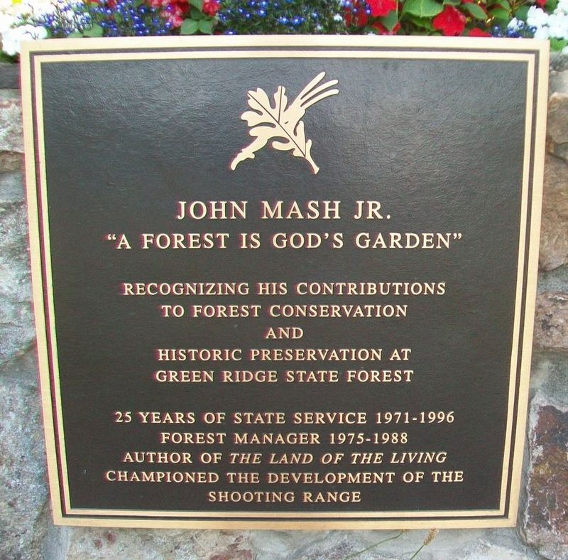 John Mash Jr. Marker image. Click for full size.
