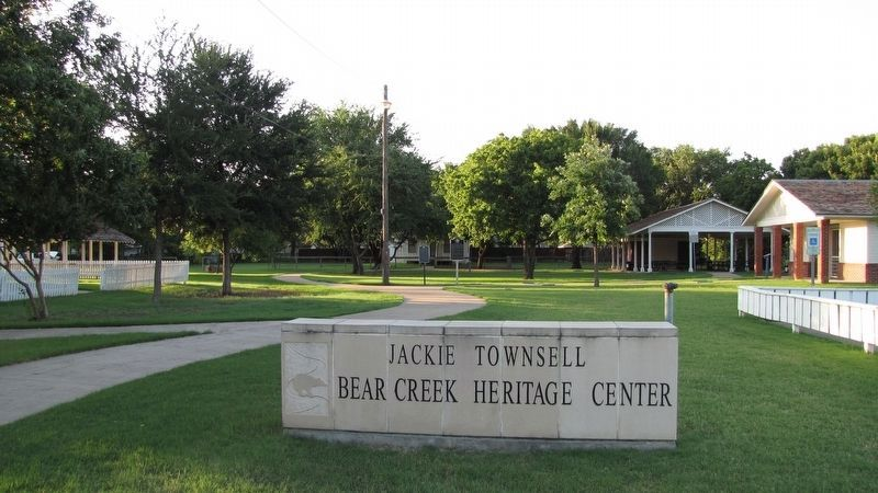 Jackie Townsell Bear Creek Heritage Center image. Click for full size.
