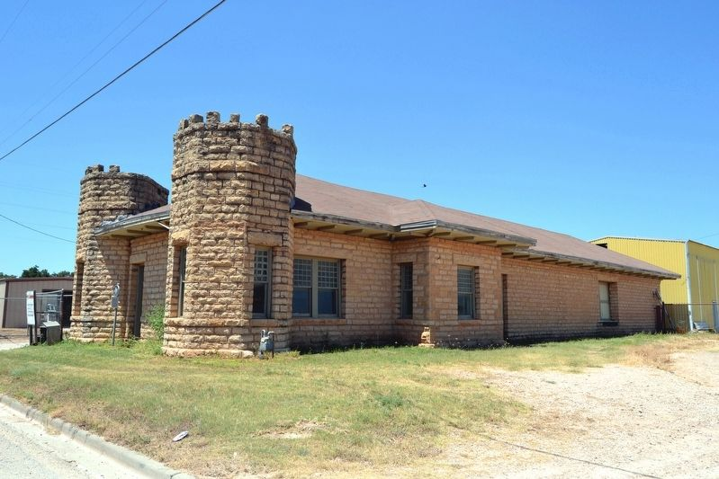 Abilene & Southern Depot image. Click for full size.