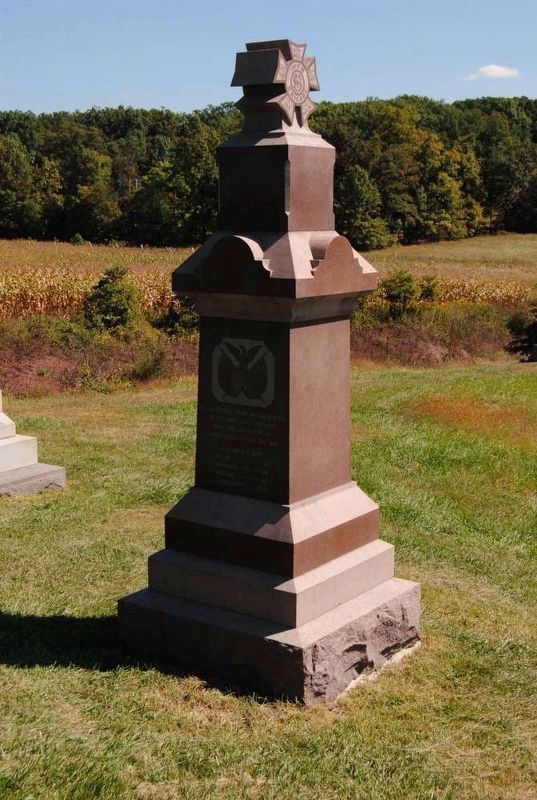 6th Wisconsin Volunteers Monument image. Click for full size.