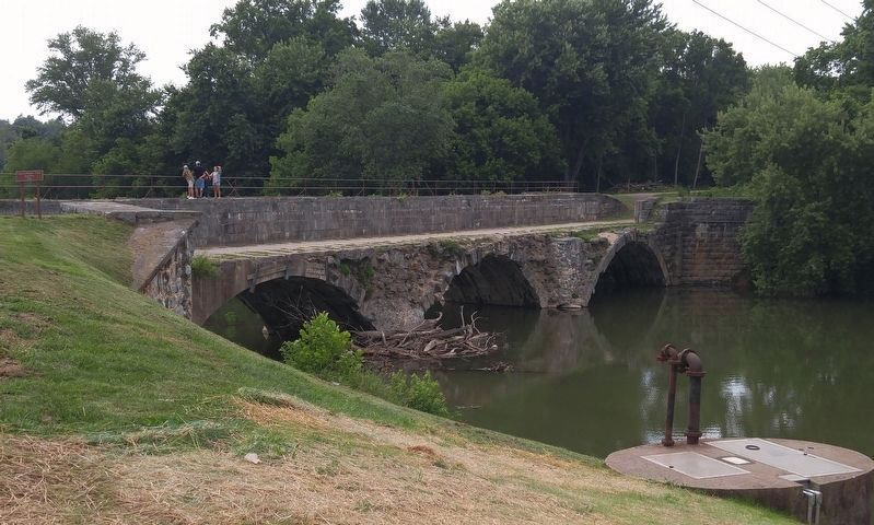 Conococheague Creek Aqueduct image. Click for full size.