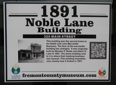 Noble Lane Building Marker image. Click for full size.