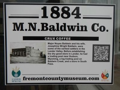 M.N Baldwin Co. Marker image. Click for full size.