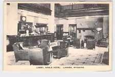 Vintage post card of the interior of the Noble Hotel image. Click for full size.