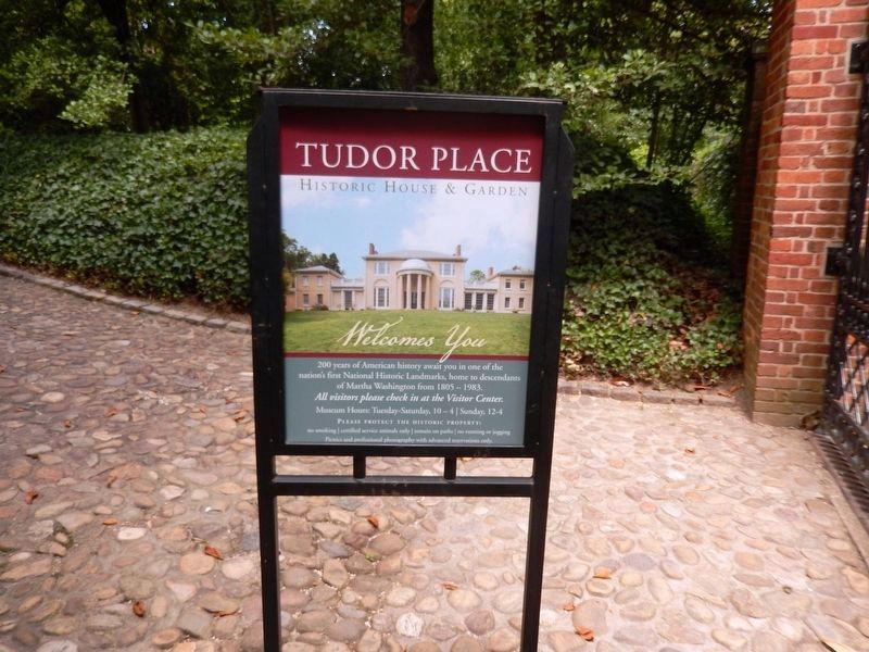 Tudor Place Historic House and Gardens Welcomes You image. Click for full size.