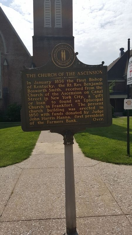 The Church of the Ascension Marker image. Click for full size.