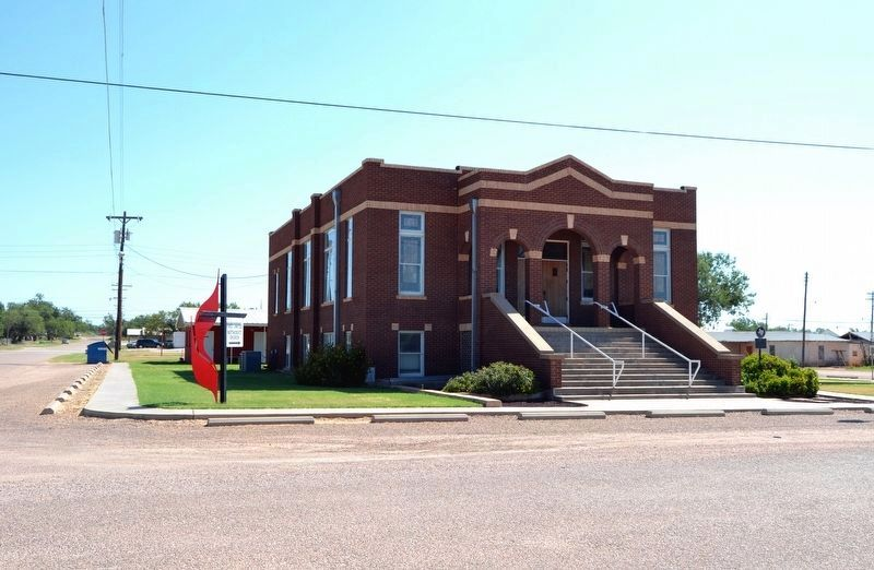 First Methodist Church of Robert Lee image. Click for full size.
