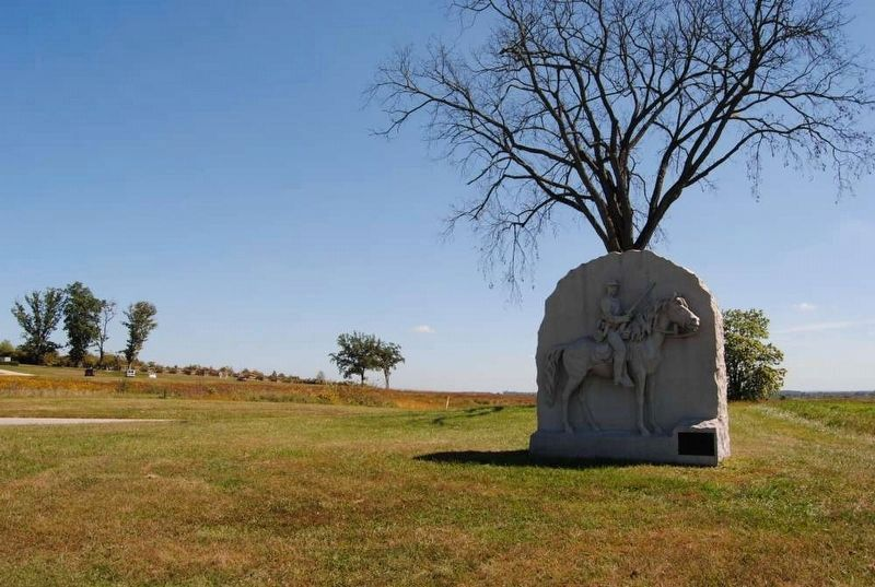 17th Pennsylvania Cavalry Monument image. Click for full size.