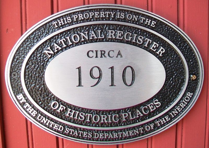 104 East Main Street NRHP Marker image. Click for full size.