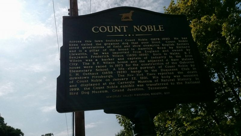Count Noble Marker image. Click for full size.