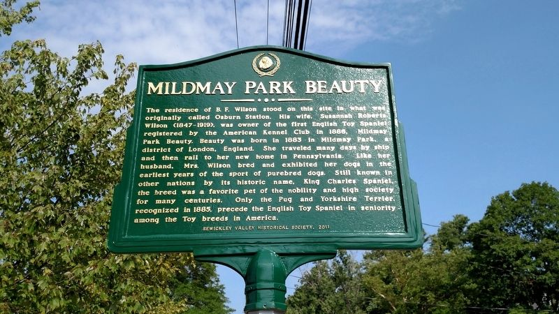 Mildmay Park Beauty Marker image. Click for full size.
