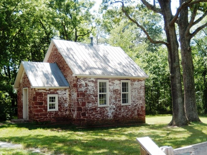 The Historic Seneca Schoolhouse image. Click for full size.