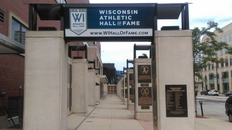 Wisconsin Athletic Hall of Fame image, Touch for more information