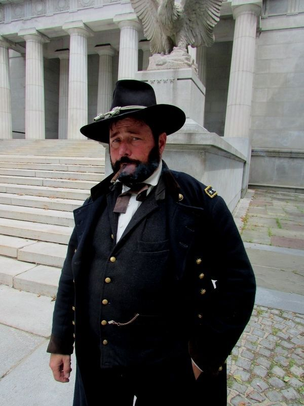 General Grant at the Tomb image. Click for full size.