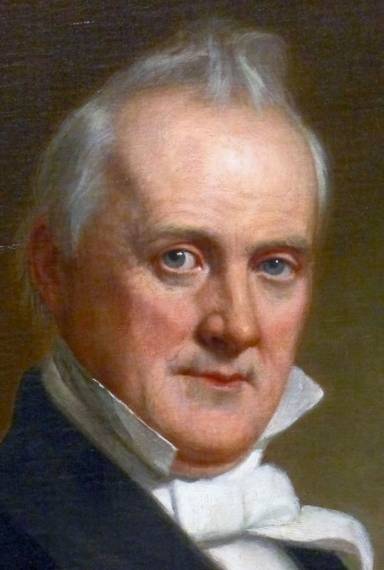 James Buchanan image. Click for full size.