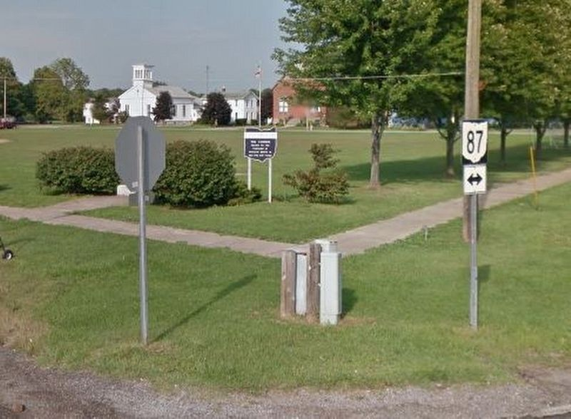 Bloomfield Township Commons Marker image. Click for full size.
