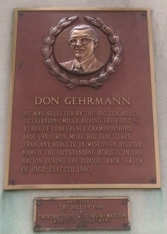 Don Gehrmann Marker image. Click for full size.