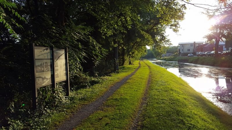 The C&O Canal: Serving the Potomac Valley Marker image. Click for full size.