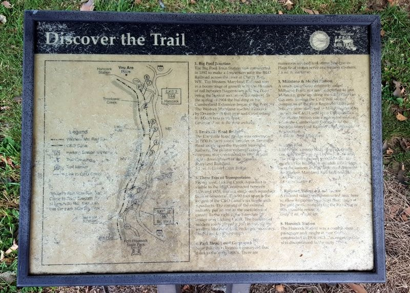Discover the Trail Marker image. Click for full size.