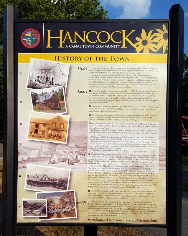 Hancock Marker image. Click for full size.
