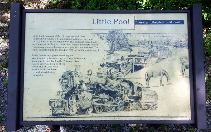 Little Pool Marker image. Click for full size.