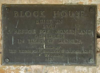 Block House Marker image. Click for full size.