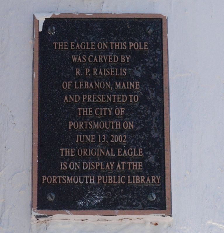Liberty Pole and Bridge Marker image. Click for full size.