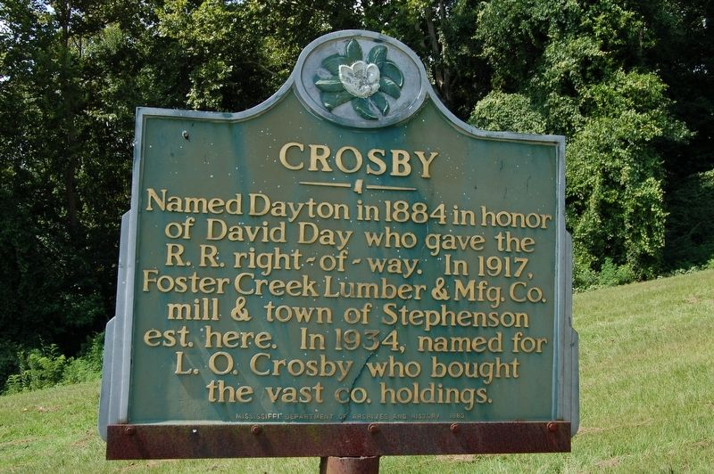 Crosby Marker image. Click for full size.