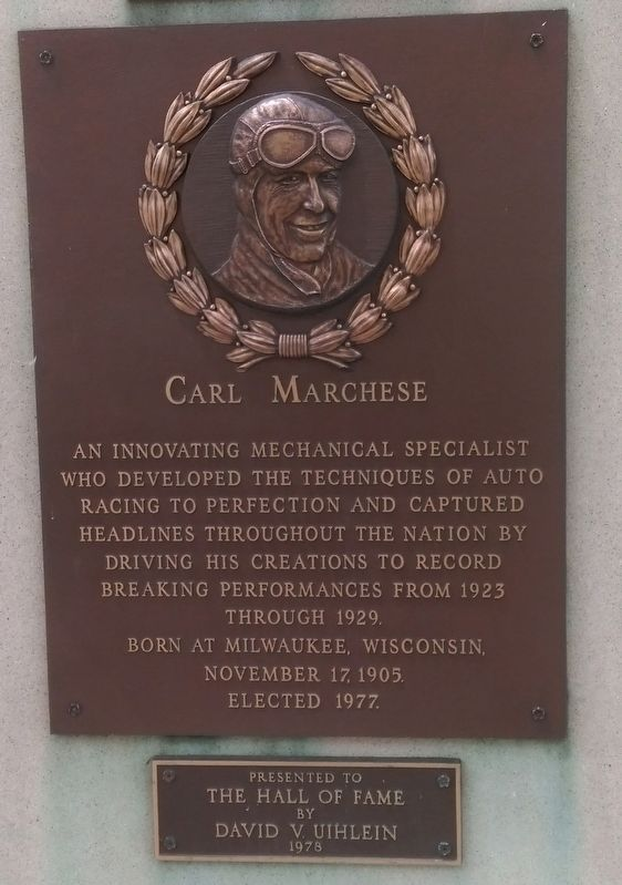 Carl Marchese Marker image. Click for full size.