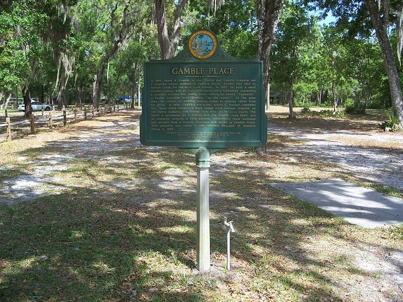 Gamble Place Marker