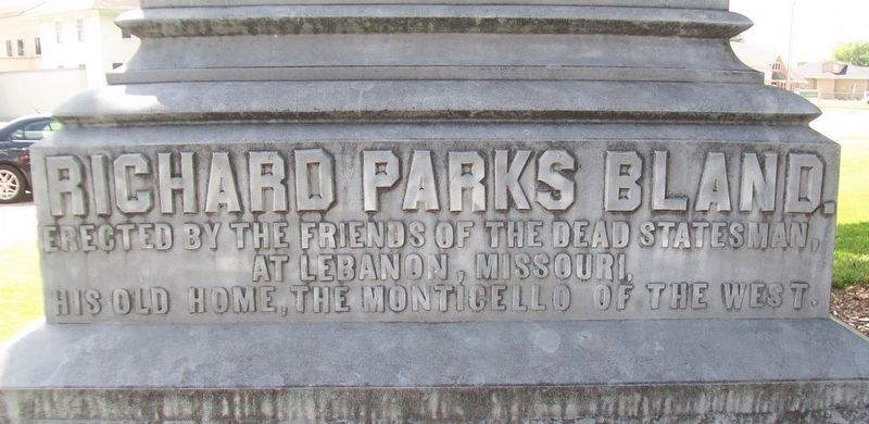 Richard Parks Bland Marker image. Click for full size.