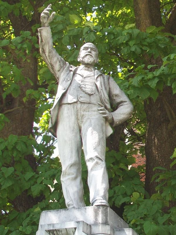 Richard Parks Bland Statue image. Click for full size.