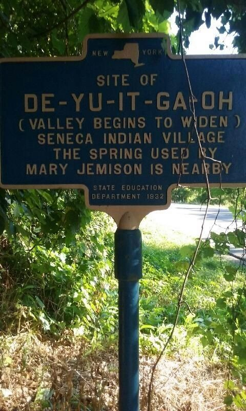Site of De-Yu-It-Ga-Oh Marker image. Click for full size.