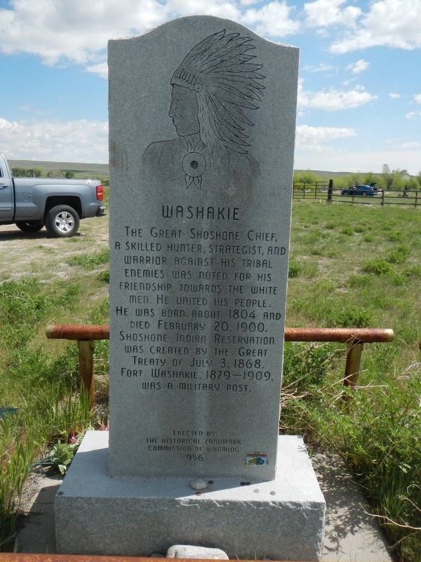 Washakie Marker image. Click for full size.